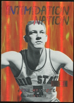 2011/12 Upper Deck Fleer Retro Intimidation Nation #29 John Havlicek