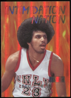 2011/12 Upper Deck Fleer Retro Intimidation Nation #30 Reggie Theus