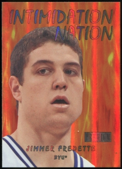 2011/12 Upper Deck Fleer Retro Intimidation Nation #33 Jimmer Fredette