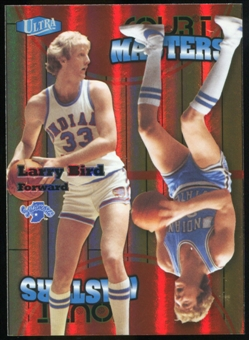 2011/12 Upper Deck Fleer Retro Ultra Court Masters #3 Larry Bird