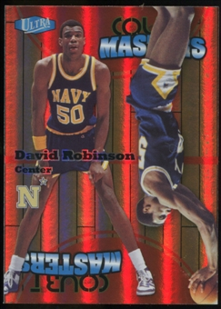 2011/12 Upper Deck Fleer Retro Ultra Court Masters #7 David Robinson
