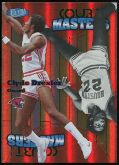 2011/12 Upper Deck Fleer Retro Ultra Court Masters #9 Clyde Drexler