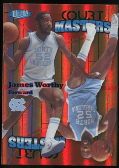 2011/12 Upper Deck Fleer Retro Ultra Court Masters #15 James Worthy