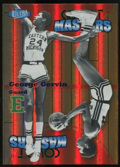 2011/12 Upper Deck Fleer Retro Ultra Court Masters #19 George Gervin