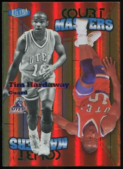 2011/12 Upper Deck Fleer Retro Ultra Court Masters #24 Tim Hardaway