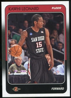 2011/12 Upper Deck Fleer Retro 1988-89 #KL Kawhi Leonard