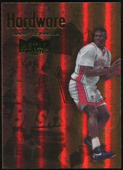 2011/12 Upper Deck Fleer Retro Metal Championship Hardware #7 Larry Johnson