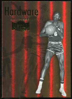 2011/12 Upper Deck Fleer Retro Metal Championship Hardware #10 Bill Russell