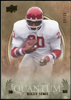 2013 Upper Deck Quantum #6 Billy Sims /65