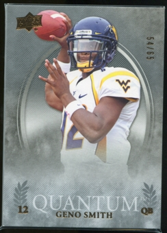 2013 Upper Deck Quantum #82 Geno Smith /65