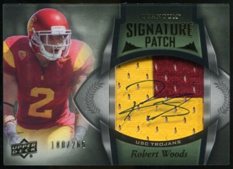 2013 Upper Deck Quantum Signature Patches #132 Robert Woods Autograph /265