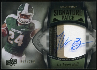 2013 Upper Deck Quantum Signature Patches #136 Le'Veon Bell Autograph 52/265