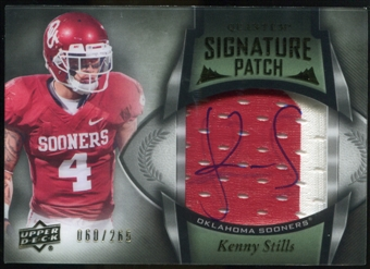 2013 Upper Deck Quantum Signature Patches #147 Kenny Stills Autograph /265