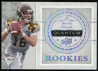 2013 Upper Deck Quantum '14 Draft Picks Silver Spectrum #XRC27 Brett Smith /25