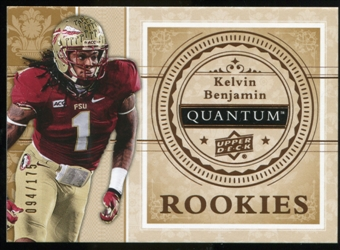 2013 Upper Deck Quantum '14 Draft Picks #XRC16 Kelvin Benjamin /175