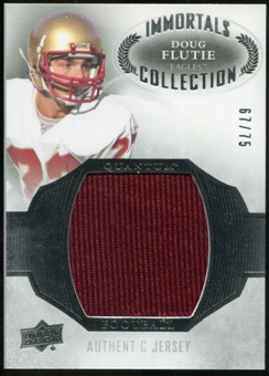 2013 Upper Deck Quantum Jersey Collection #LCDF Doug Flutie /75