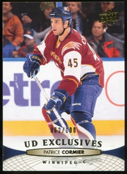 2011/12 Upper Deck Exclusives #2 Patrice Cormier /100
