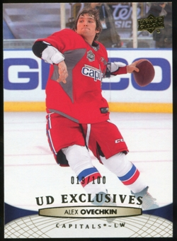 2011/12 Upper Deck Exclusives #8 Alexander Ovechkin /100