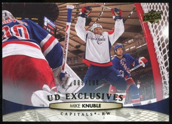 2011/12 Upper Deck Exclusives #9 Mike Knuble /100