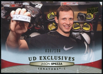 2011/12 Upper Deck Exclusives #66 Jason Spezza /100