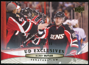 2011/12 Upper Deck Exclusives #71 Bobby Butler /100
