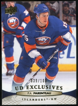 2011/12 Upper Deck Exclusives #82 P.A. Parenteau /100
