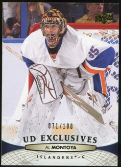 2011/12 Upper Deck Exclusives #86 Al Montoya /100