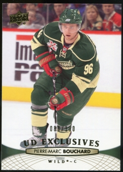2011/12 Upper Deck Exclusives #109 Pierre-Marc Bouchard /100