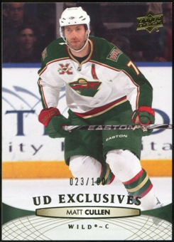 2011/12 Upper Deck Exclusives #111 Matt Cullen /100