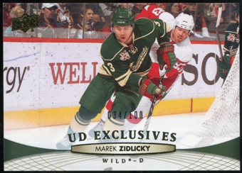 2011/12 Upper Deck Exclusives #112 Marek Zidlicky /100