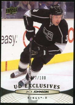 2011/12 Upper Deck Exclusives #119 Jack Johnson /100