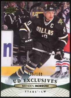 2011/12 Upper Deck Exclusives #140 Brenden Morrow /100