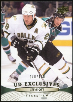 2011/12 Upper Deck Exclusives #145 Steve Ott /100