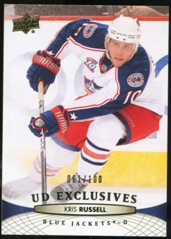 2011/12 Upper Deck Exclusives #149 Kris Russell /100