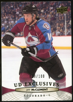 2011/12 Upper Deck Exclusives #155 Jay McClement /100