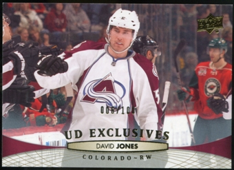 2011/12 Upper Deck Exclusives #157 David Jones /100
