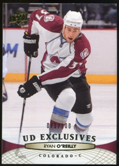 2011/12 Upper Deck Exclusives #158 Ryan O'Reilly /100