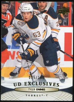 2011/12 Upper Deck Exclusives #184 Tyler Ennis /100