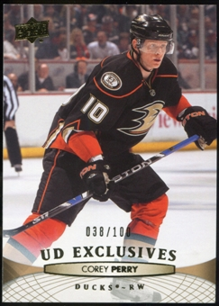 2011/12 Upper Deck Exclusives #194 Corey Perry /100