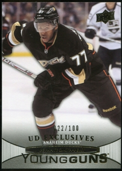 2011/12 Upper Deck Exclusives #201 Devante Smith-Pelly YG /100