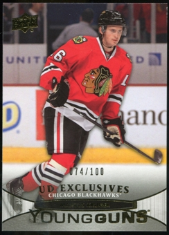 2011/12 Upper Deck Exclusives #206 Marcus Kruger YG /100