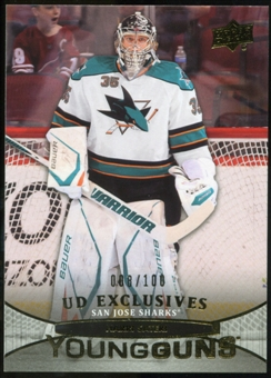 2011/12 Upper Deck Exclusives #238 Harri Sateri YG /100