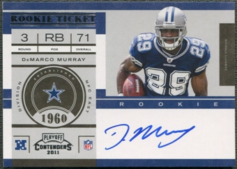 2011 Playoff Contenders #231 DeMarco Murray Rookie Auto