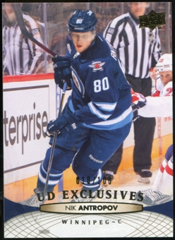 2011/12 Upper Deck Exclusives #252 Nik Antropov /100