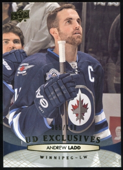2011/12 Upper Deck Exclusives #257 Andrew Ladd /100
