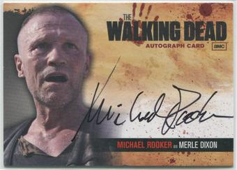 2011 The Walking Dead #A13 Michael Rooker as Merle Dixon Auto