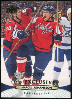 2011/12 Upper Deck Exclusives #263 Marcus Johansson /100