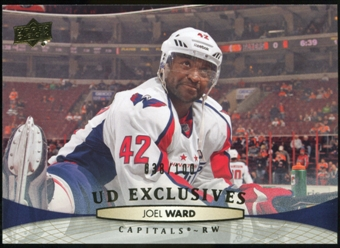 2011/12 Upper Deck Exclusives #265 Joel Ward /100