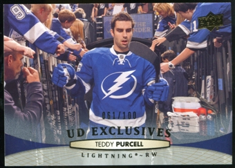 2011/12 Upper Deck Exclusives #283 Teddy Purcell /100