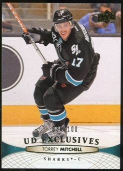 2011/12 Upper Deck Exclusives #296 Torrey Mitchell /100